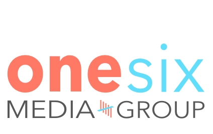 onen sixe media group logo designed by bluclay