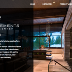 Earth Elements website Designed by BluClay