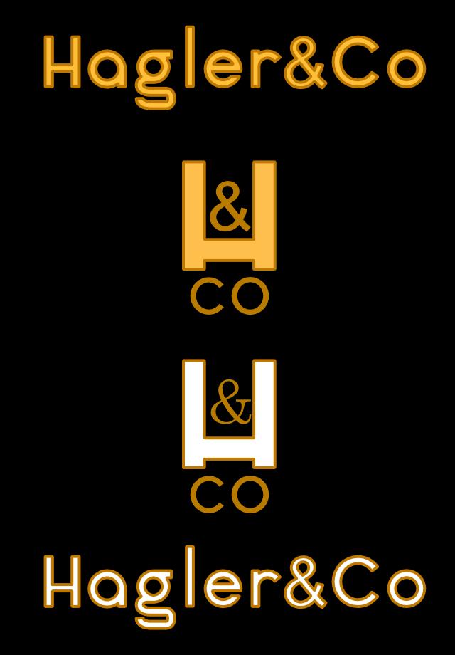 Hagler & Co. Logo designed by BluClay