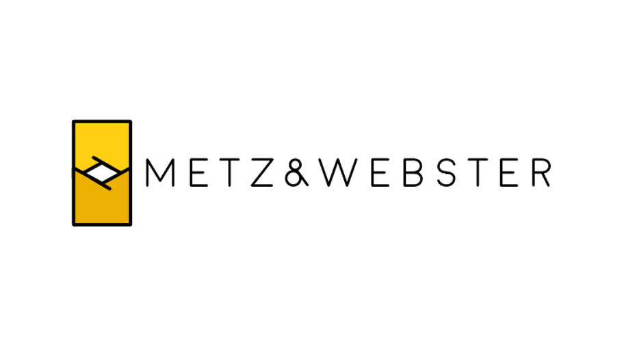 Metz and Webster logo designed by bluclay