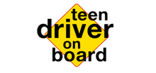 Teen Driver on Board logo designed by BluClay